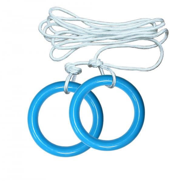 Кольца гимнастические пластиковые